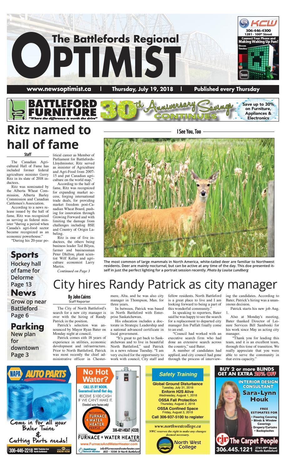 Regional Optimist July 19 by Battlefords News Optimist - issuu
