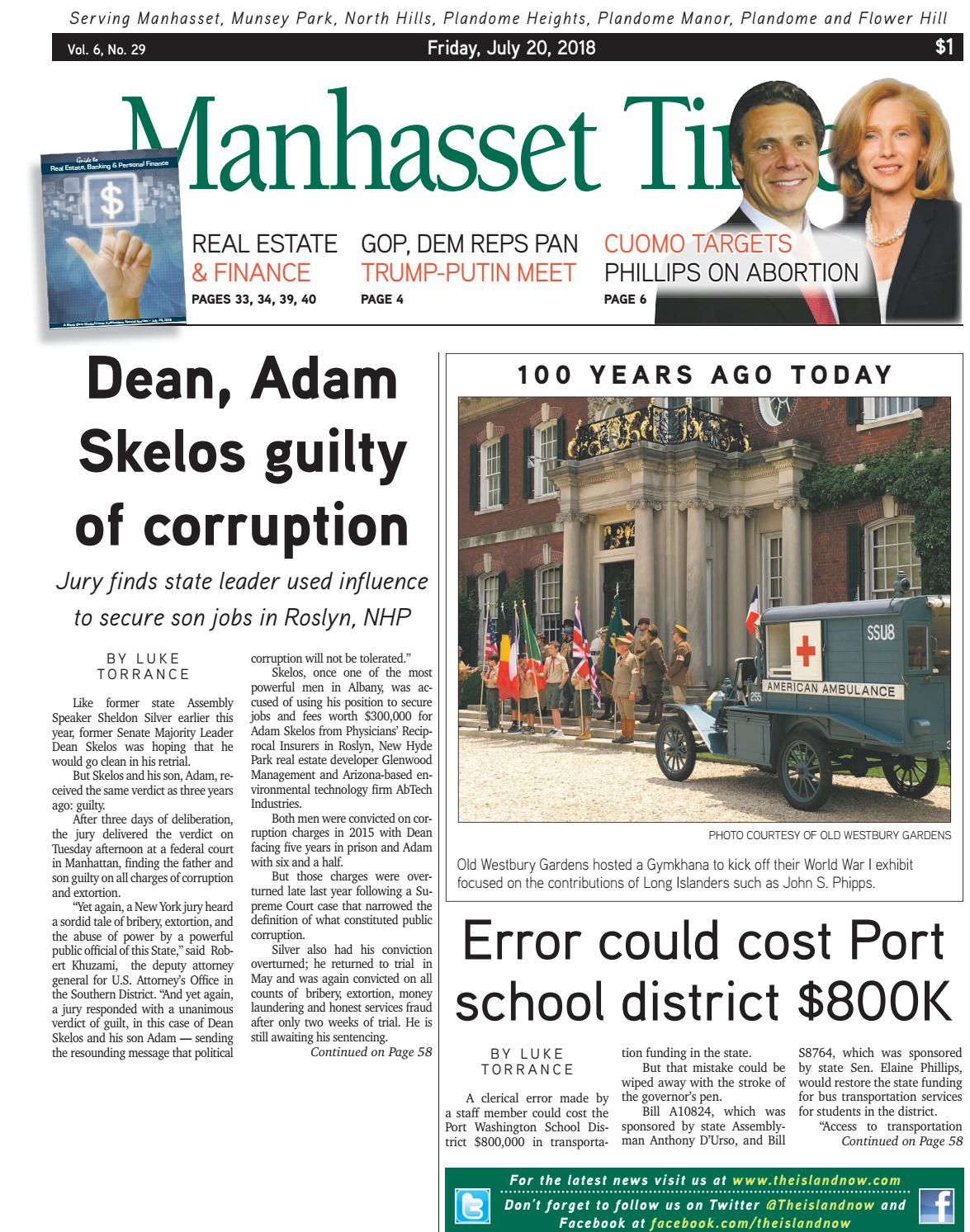 Manhasset Times 7 20 18 by The Island Now - issuu