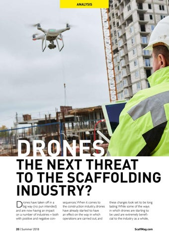 Page 20 of Drones - The Next Threat To The Scaffolding Industry?