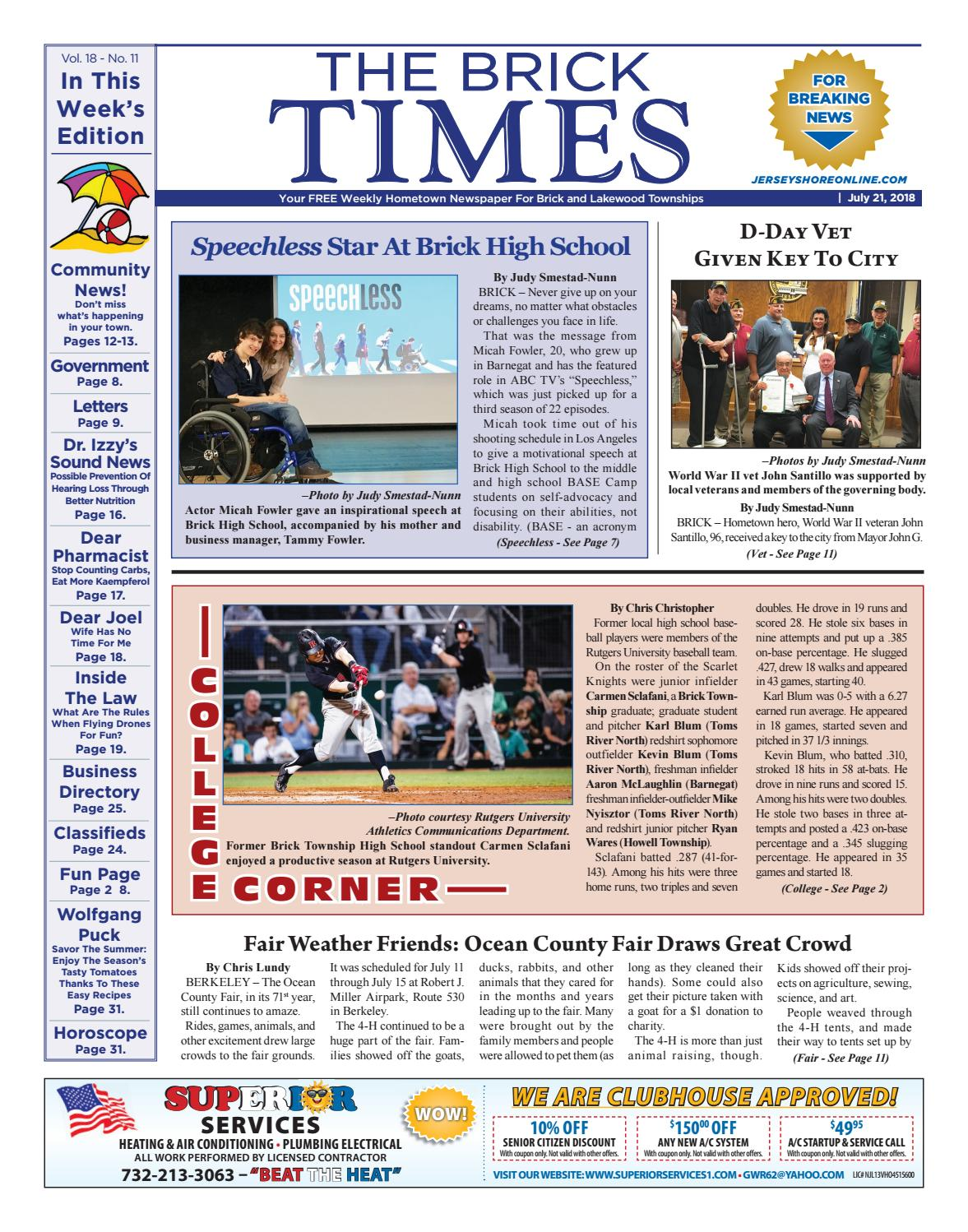 2018-07-21 - The Brick Times by Micromedia Publications