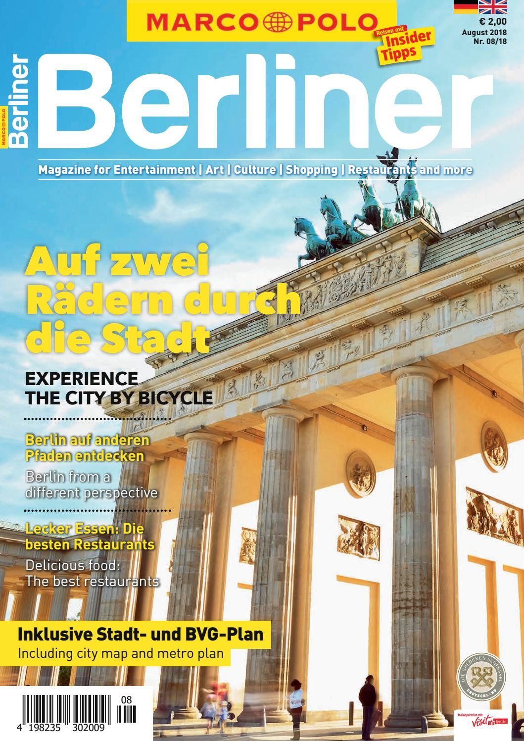 Marco Polo Auf zwei Raedern 08.2018 by Berlin Medien GmbH - issuu