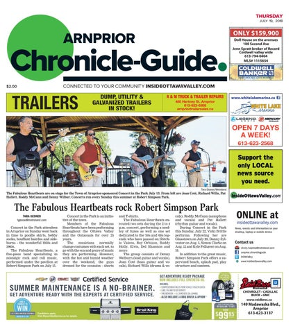 Arn A 20180719 By Metroland East Arnprior Chronicle Guide Issuu