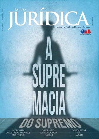 Revista Jurídica OAB DF - Julho 2018 by Ordem dos Advogados do ... 98812778cf