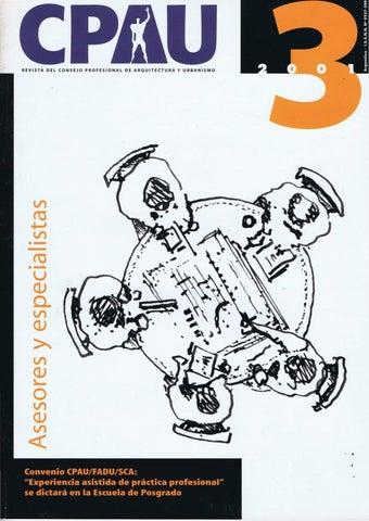 CPAU   Revista del Consejo Profesional de Arquitectura y Urbanismo ... f235f8508f8