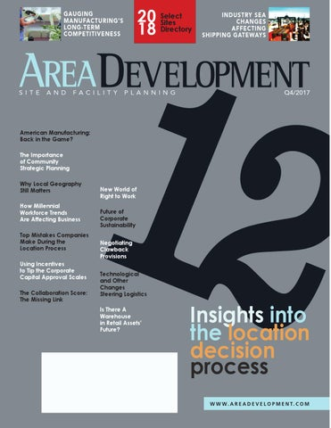 7c8ca373f3f7 Area Development Q4 2017 by AreaDevelopment - issuu