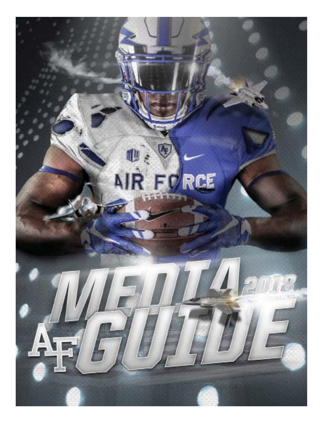 3ffdc2d73180 Air Force football media guide 2018 by Dave Toller - issuu
