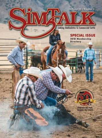 2018 SimTalk Membership Directory By American Simmental Publication