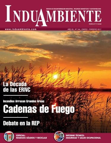 REVISTA INDUAMBIENTE Ed. N°144   Ene-Feb 2017 by Revista ... 92e16882763ee