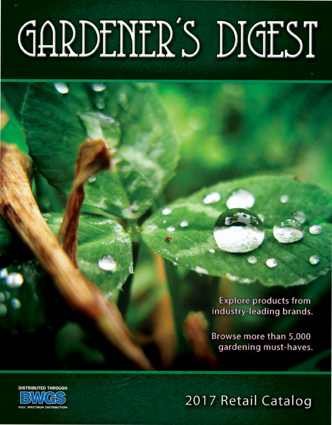 Gardeners Digest 2017 Catalog By Bwgs Issuu Products Humidifiers Water Bypass Powerfan