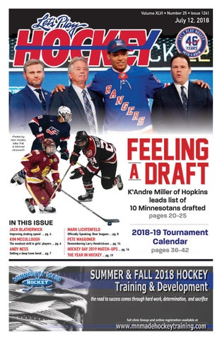 10dbb2ea1 July issue of Let s Play Hockey by Let s Play Hockey - issuu