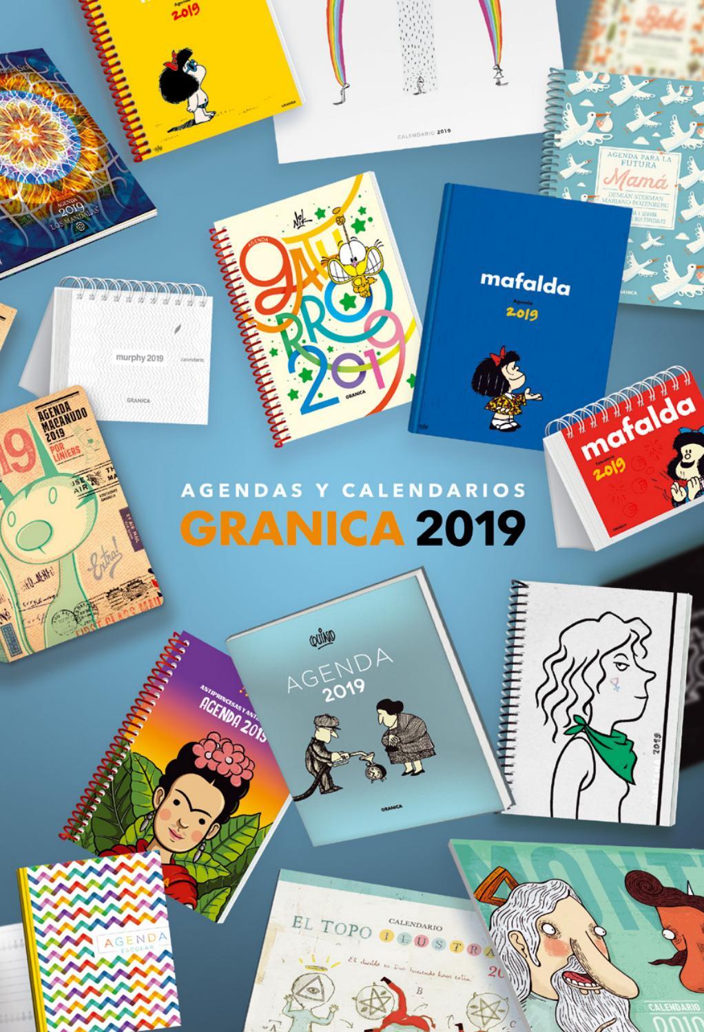 424ef3811 Granica agendas y calendarios 2019 by Claudio Iannini - issuu