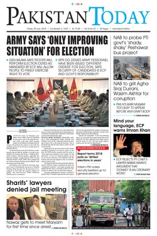 E-Paper PDF 20 July 2018 (ISB) by Pakistan Today - issuu