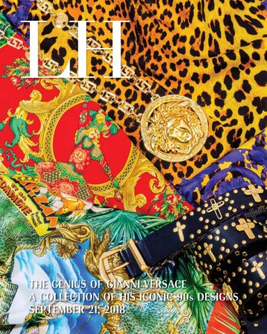 b70a2410376 LH THE GENIUS OF GIANNI VERSACE A COLLECTION OF HIS ICONIC 90s DESIGNS  SEPTEMBER 21, 2018