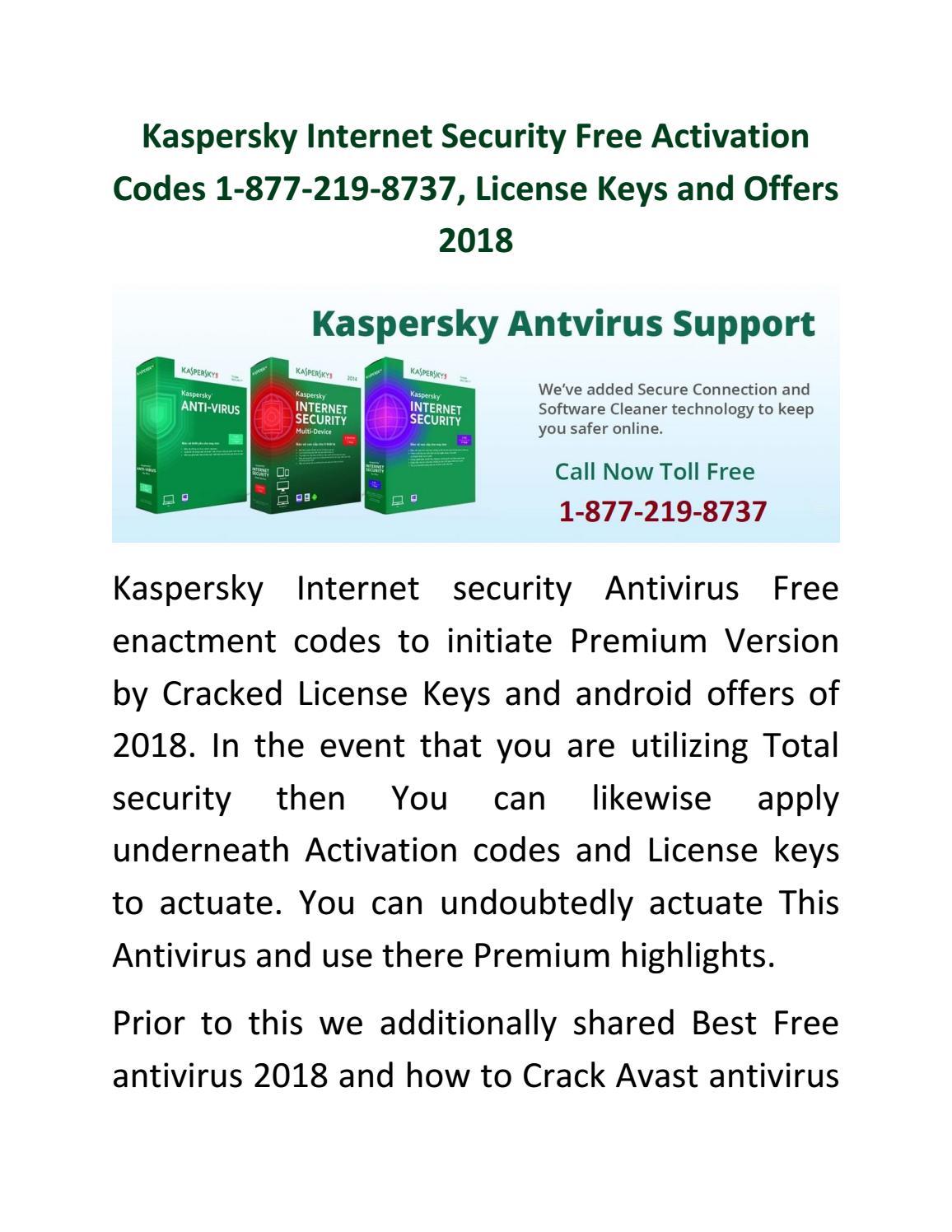kaspersky total security 2018 activation code crack