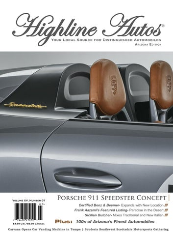 Highline Autos Volume XV, Number 07 by highline-autos - issuu