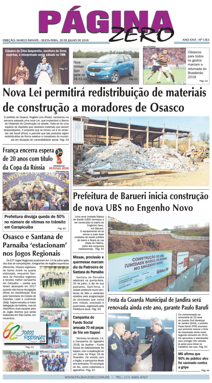 99da704646d Página Zero Edição nº 1353 (20 07 2018) by Para acessar o seu Página Zero -  issuu
