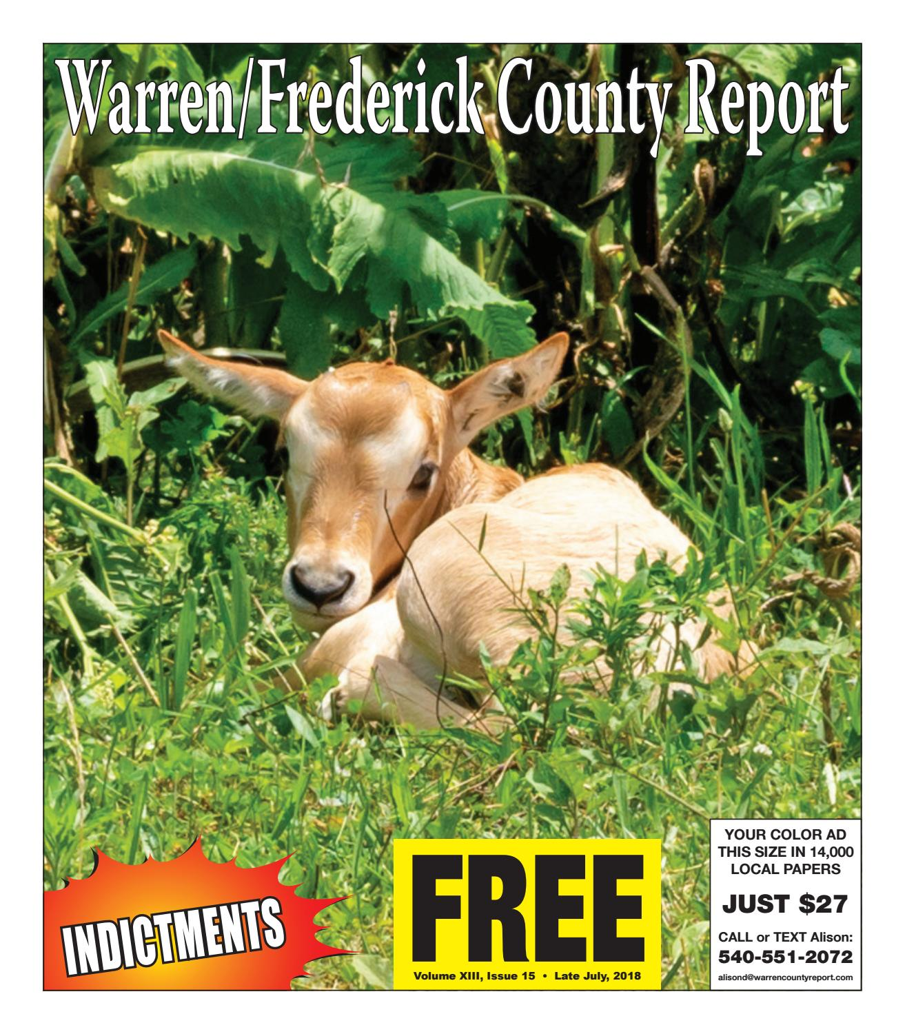 Late July 2018 Warren Frederick County Report By Compact Redstone 5clock With On Off Switch Newspaper Issuu