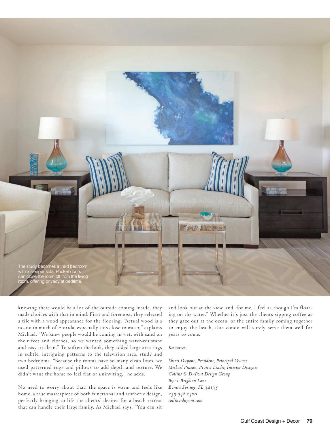 Collins & Dupont Design Group gulf coast design + decor by east coast home publishing - issuu