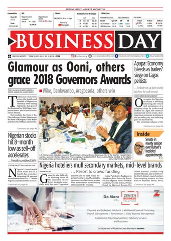 BusinessDay 20 Jul 2018 by BusinessDay - issuu