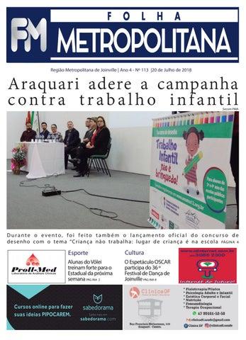 11b86043bf Edição 113 by Folha Metropolitana Online - issuu