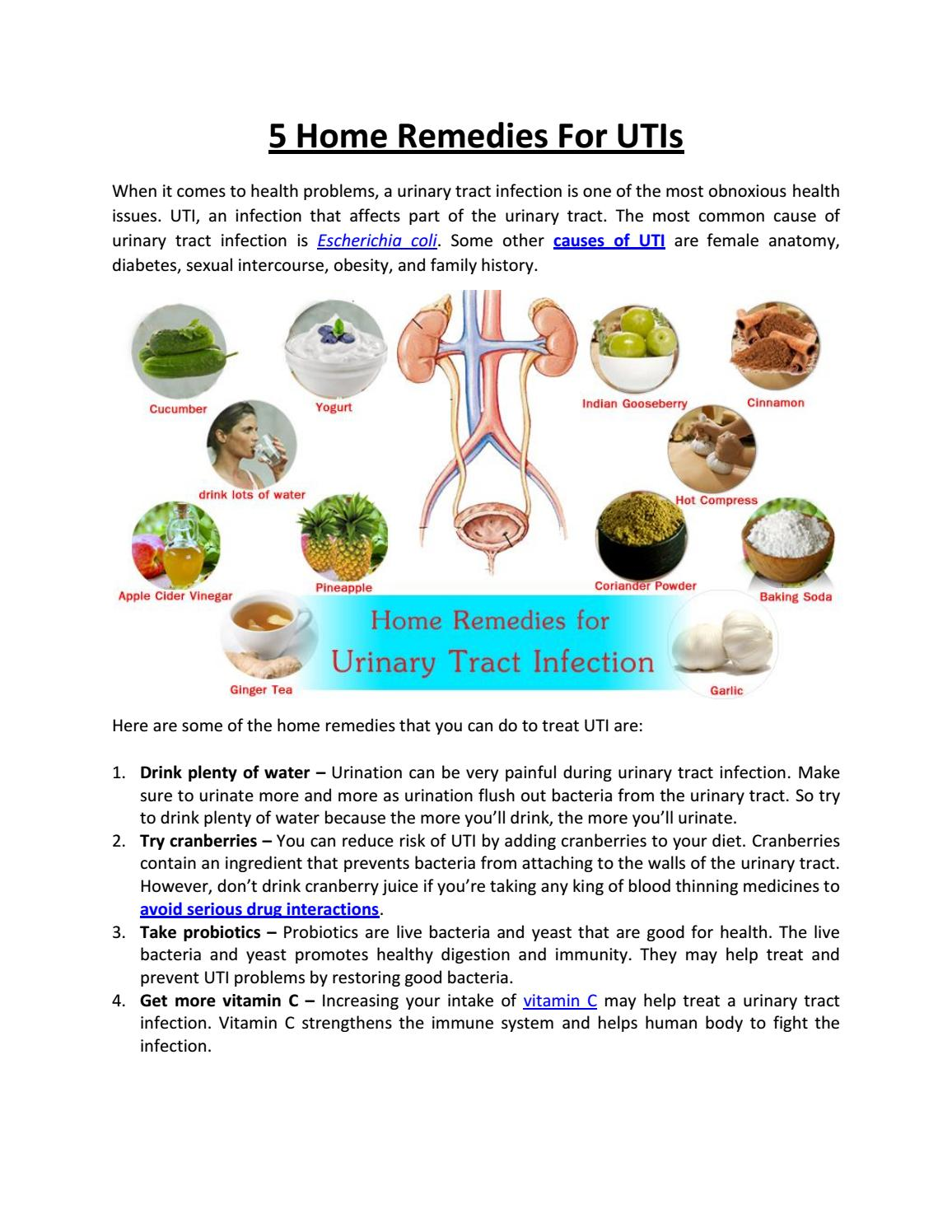 5 Home Remedies For UTIs by rxdiscountcard - issuu
