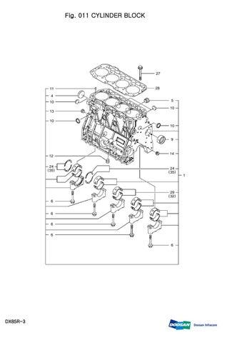 DAEWOO DOOSAN DX85R-3 MINI CRAWLER EXCAVATOR Service Repair Manual