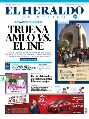 7620b16bf4 20 de julio de 2018 by El Heraldo de México - issuu