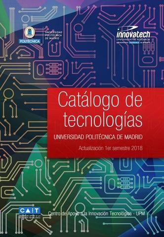 Catálogo de Tecnologías de la Universidad Politécnica de Madrid ... 37814b976d45