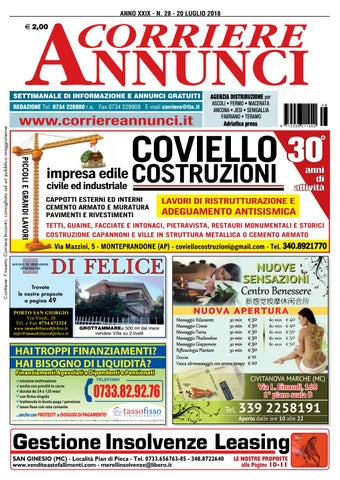 Corriere 28 2018 by Corriere Annunci issuu