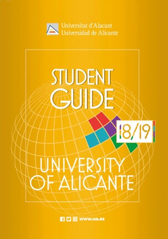 student guide university of alicante 2018 19 by oficina de  fu%c3%83%c2%9fball training kleidung c 21 #2