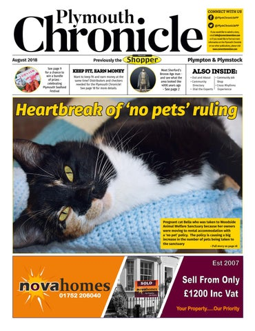 895e44dc8 Plymouth Chronicle Plympton & Plymstock August 2018 by Cornerstone ...