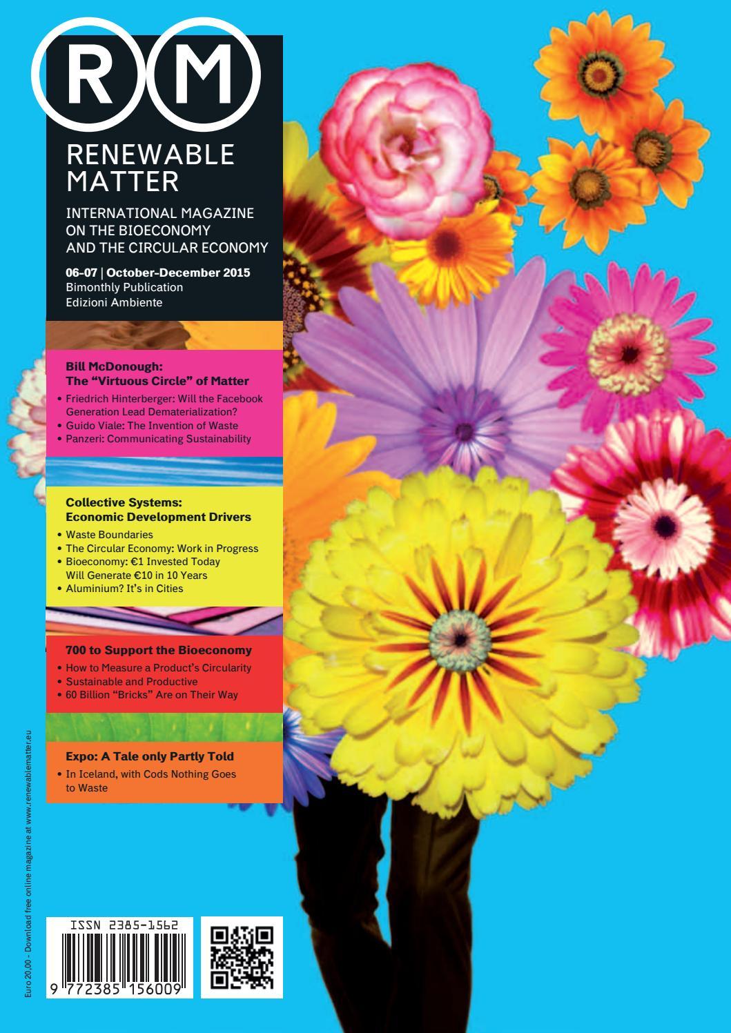 Renewable Matter #6-7 by Edizioni Ambiente - issuu