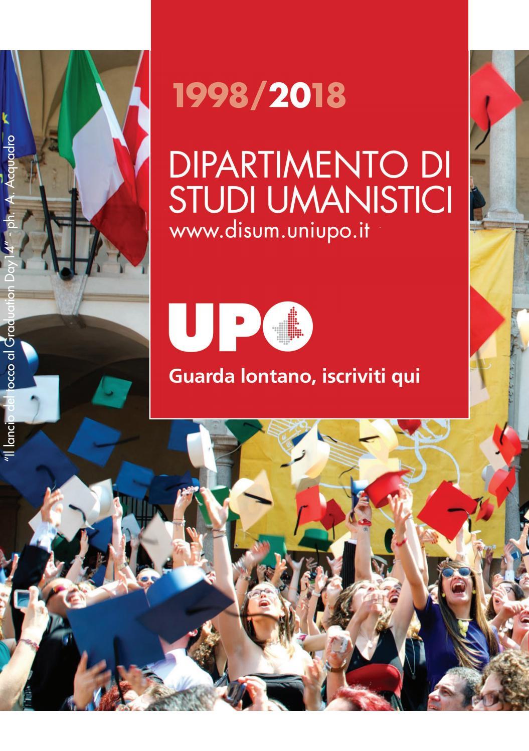 Disum Calendario Esami.Guida Studenti Dipartimento Di Studi Umanistici By