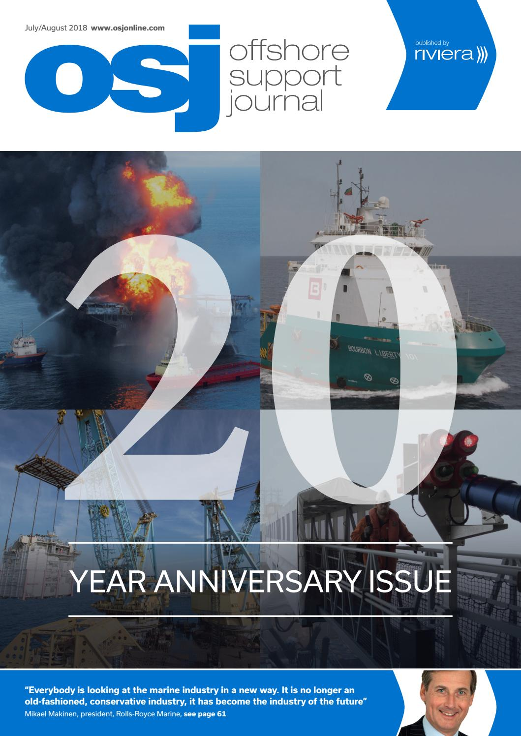 20f8dc78b Offshore Support Journal July August 2018 by rivieramaritimemedia - issuu