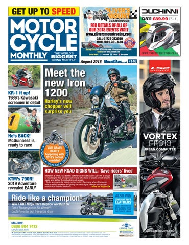 a66d64587b Motor Cycle Monthly - August 2018 by Mortons Media Group Ltd - issuu
