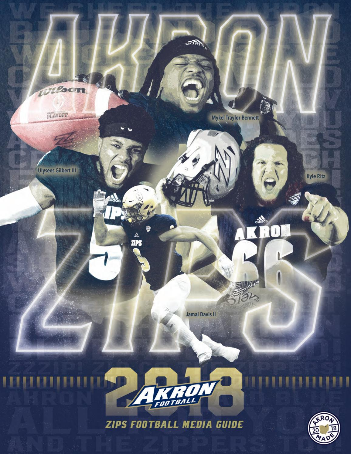2018 Akron Football Media Guide by Akron Zips - issuu