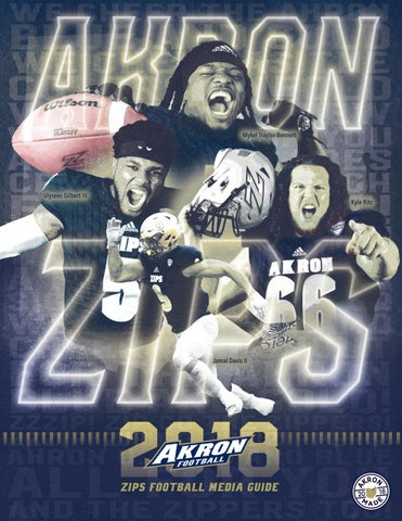 2018 Akron Football Media Guide By Akron Zips Issuu