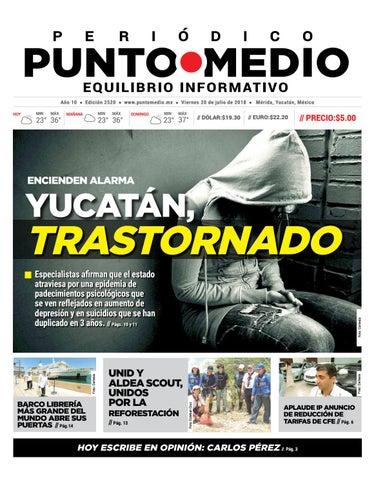 premium selection db292 cf899 Edición impresa viernes 20 de julio de 2018 by Punto Medio - issuu