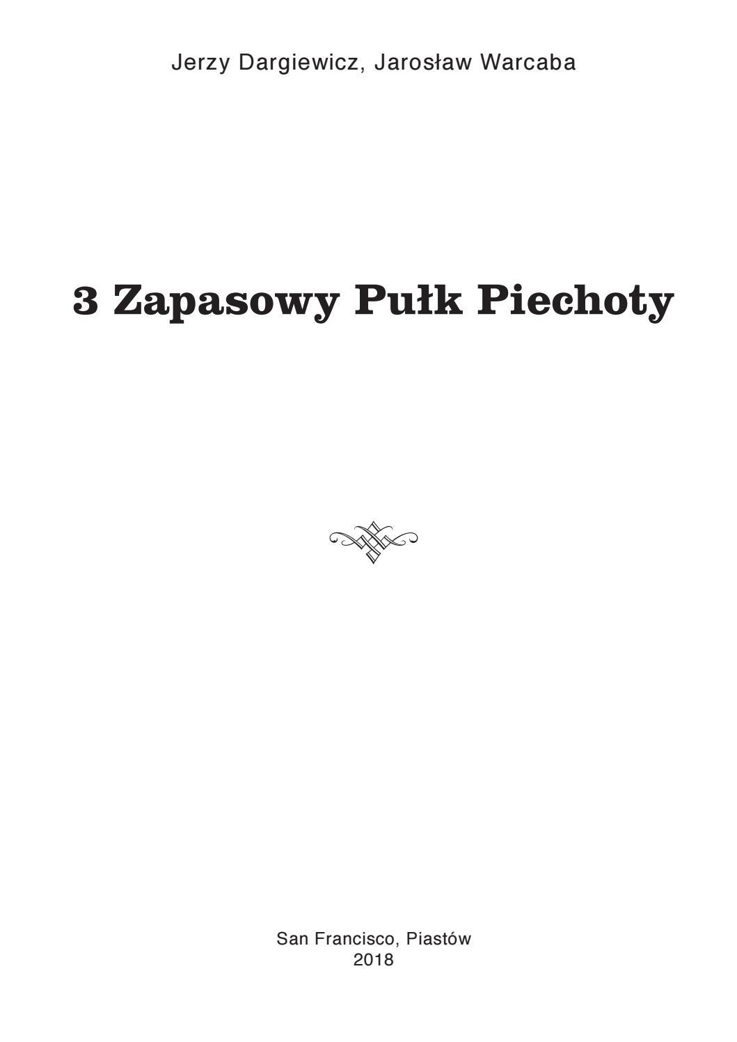 301 doc JD_JW-3-ci Zapasowy Pułk Piechoty by Jerzy