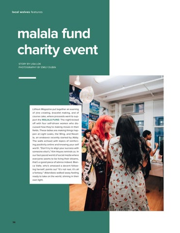 Page 36 of Malala Fund Charity Event