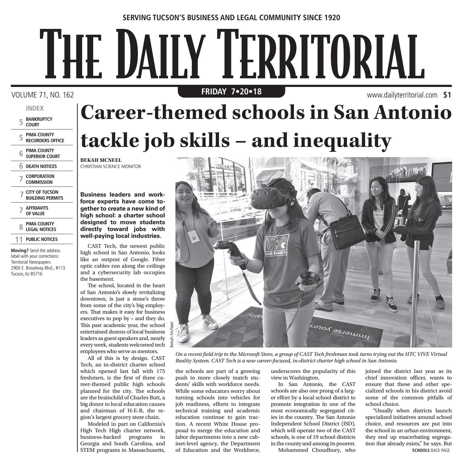The Daily Territorial 072018 by Wick Communications - issuu