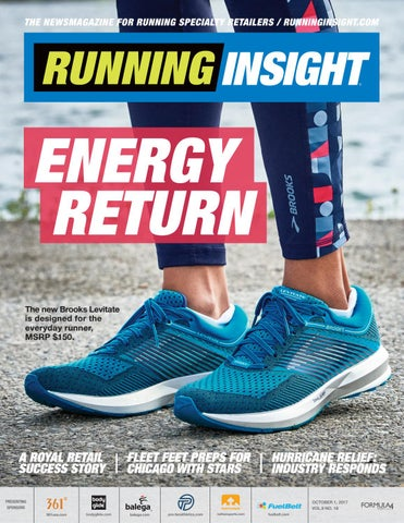 758a4866fb6 Page 1. THE NEWSMAGAZINE FOR RUNNING SPECIALTY RETAILERS    RUNNINGINSIGHT.COM. ENERGY RETURN The new Brooks Levitate ...