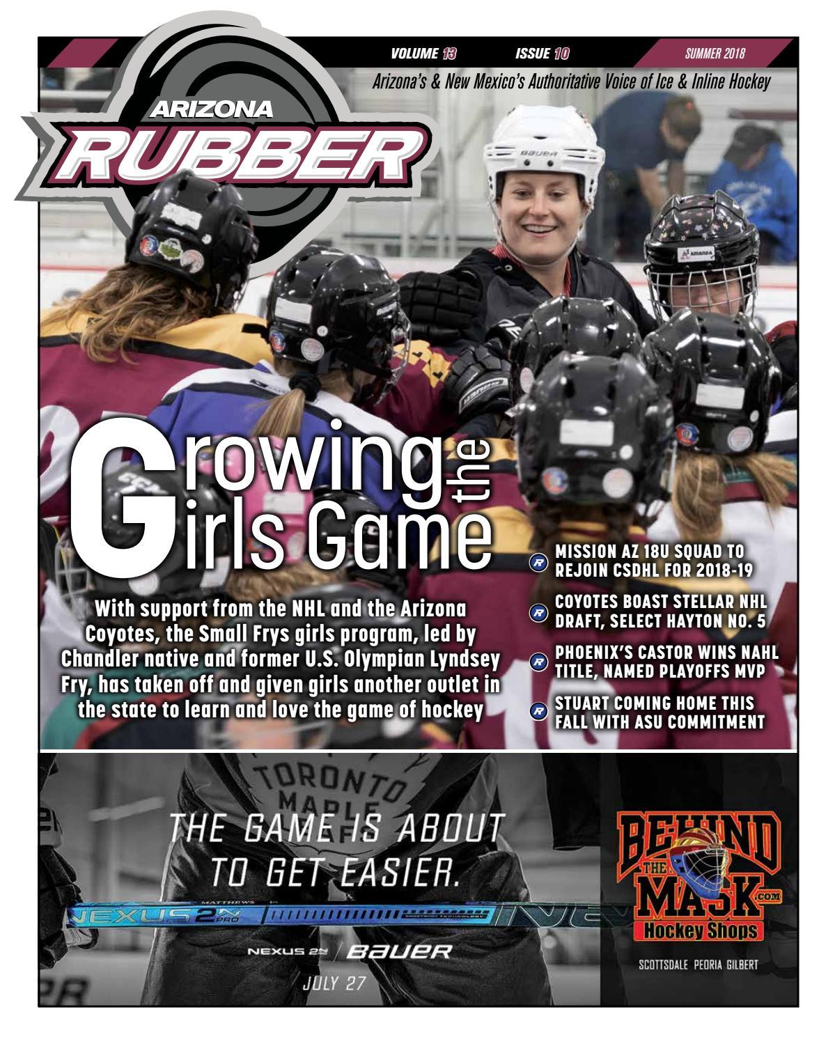 8d01f5aed9b Arizona Rubber Magazine - Summer 2018 by Rubber Hockey Magazines - issuu