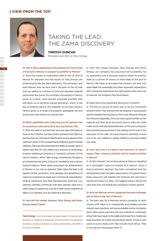 Page 116 of TAKING THE LEAD: THE ZAMA DISCOVERY