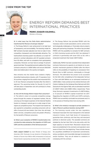 Page 18 of ENERGY REFORM DEMANDS BEST INTERNATIONAL PRACTICES