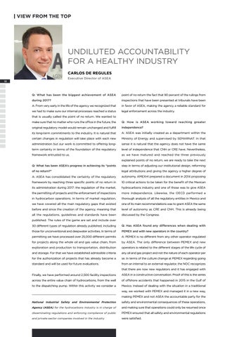 Page 22 of UNDILUTED ACCOUNTABILITY FOR A HEALTHY INDUSTRY