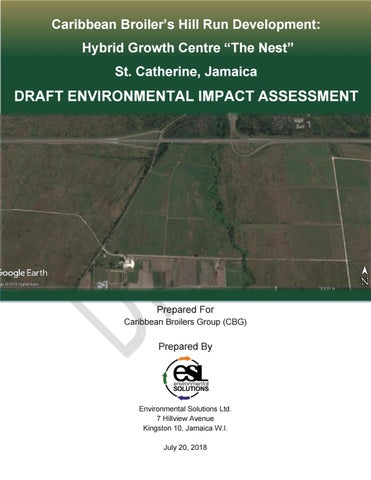 Cb Group The Nest Environmental Impact Assessment Report July 2018 By Chat Bout Issuu