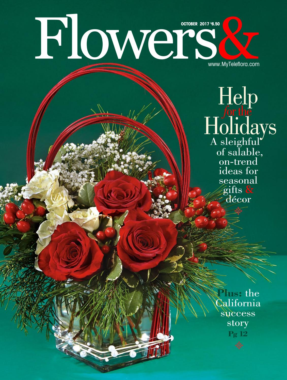 ideas for flower vase fillers with natural green flower.htm flowers  october 2017 by teleflora issuu  flowers  october 2017 by teleflora