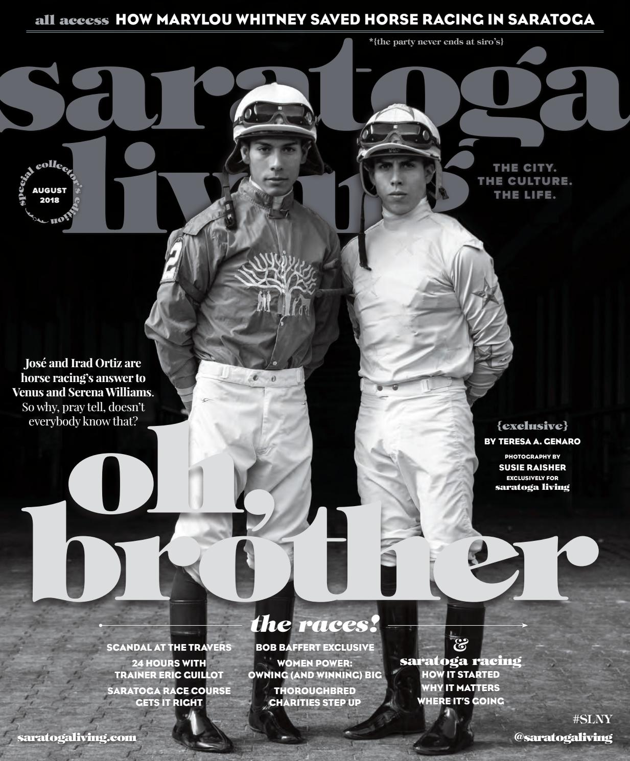 saratoga living August 2108 issue by saratogalivingmagazine