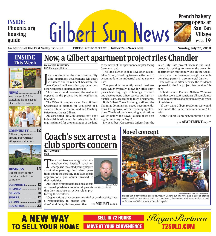 Gilbert Sun News July 22, 2018 by Times Media Group - issuu